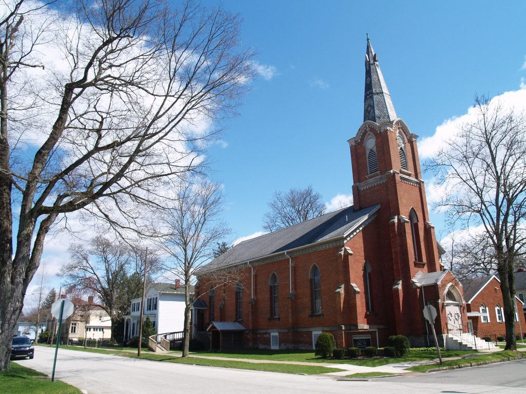 Picture of First Baptist Church in Titusville, PA