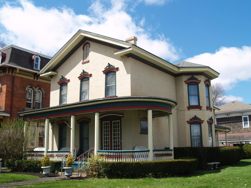 Picture of George Custer House on E Main Street in Titusville, PA