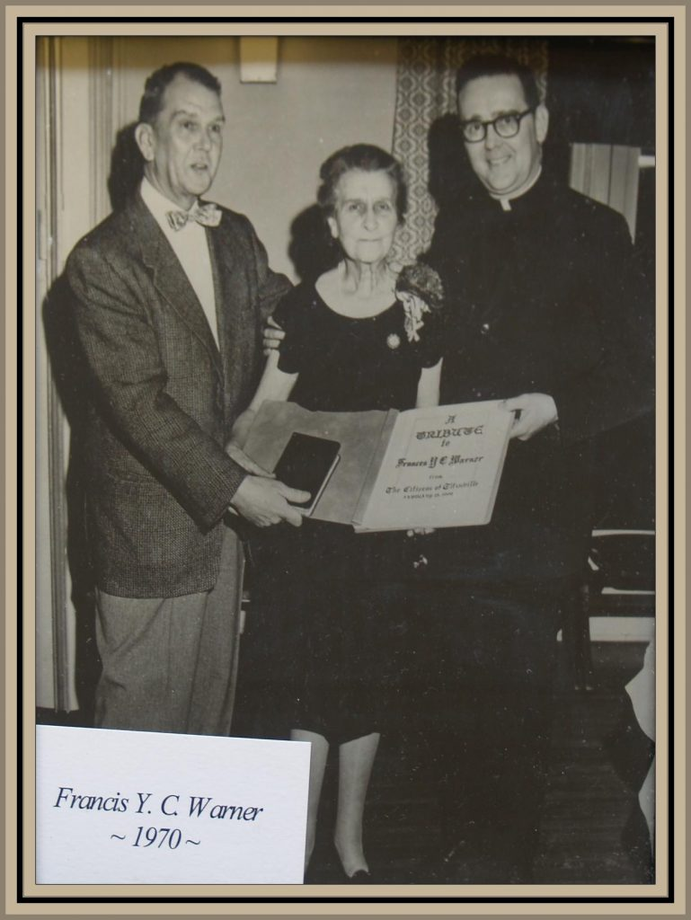 1970 Titusville Citizen of the Year-Francis Warner