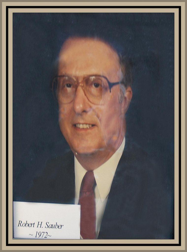 1972 Titusville Citizen of the Year - Robert Sauber