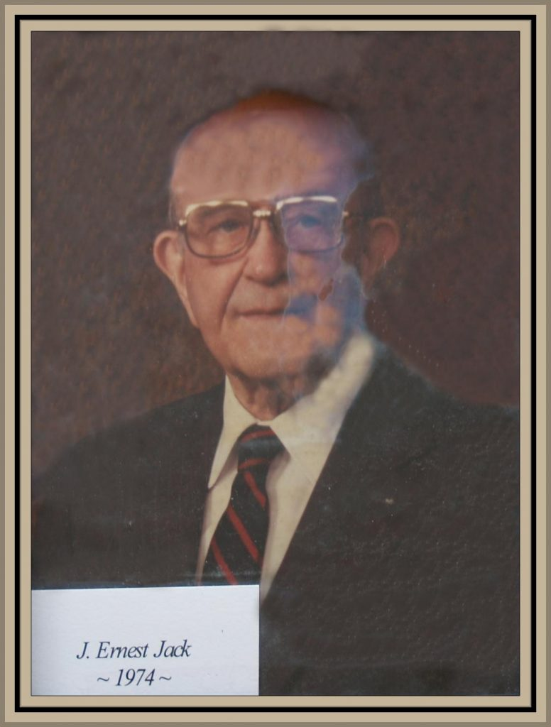 1974 Titusville Citizen of the Year-J. Ernest Jack