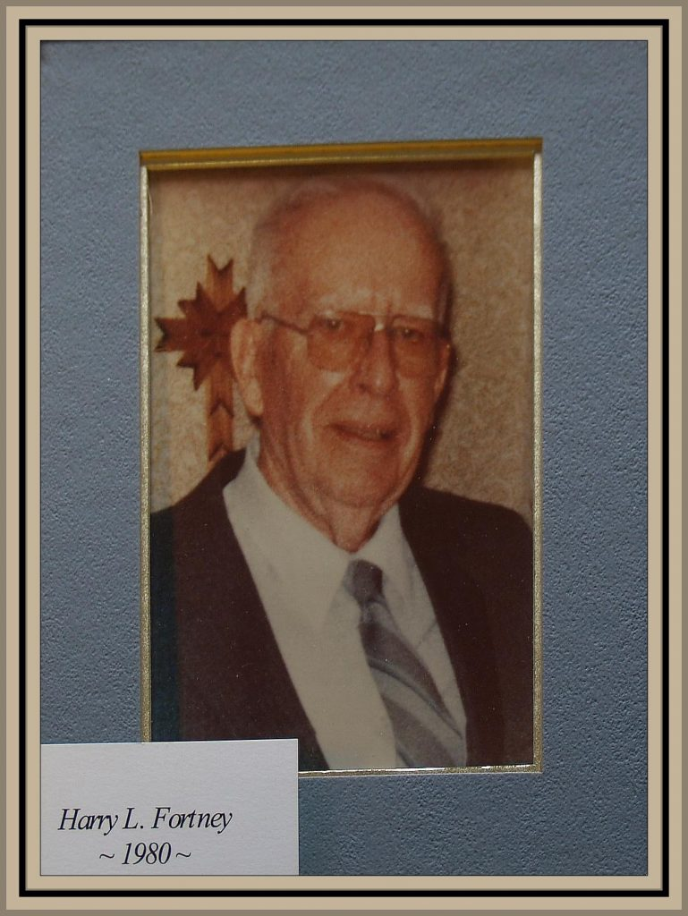 1980 Titusville Citizen of the Year - Harry L. Fortney