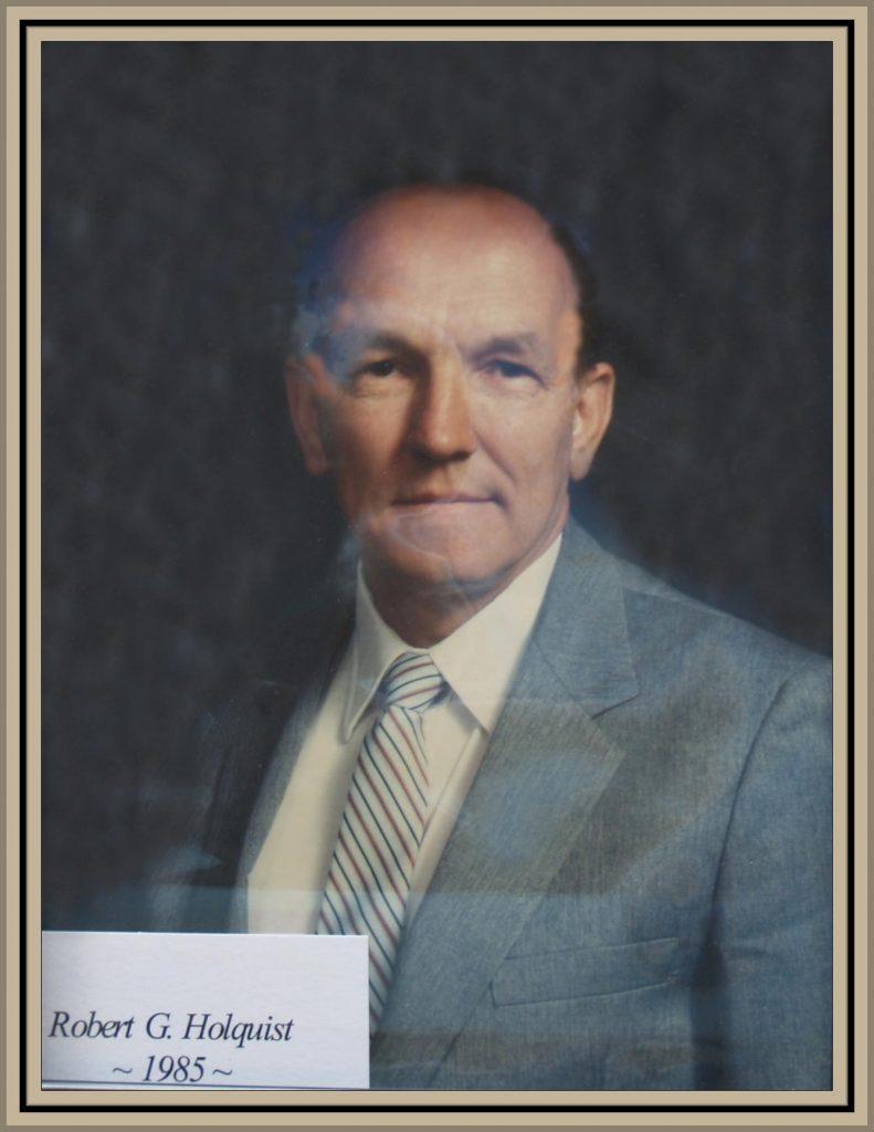 1985 Titusville Citizen of the Year - Robert G. Holquist