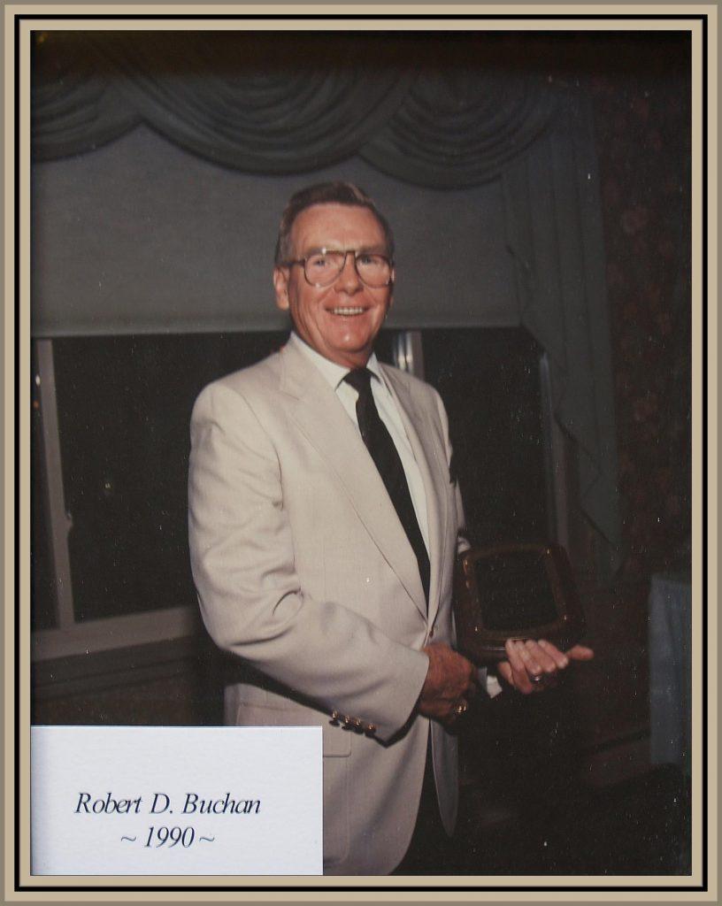 1990 Titusville Citizen of the Year - Robert D. Buchan