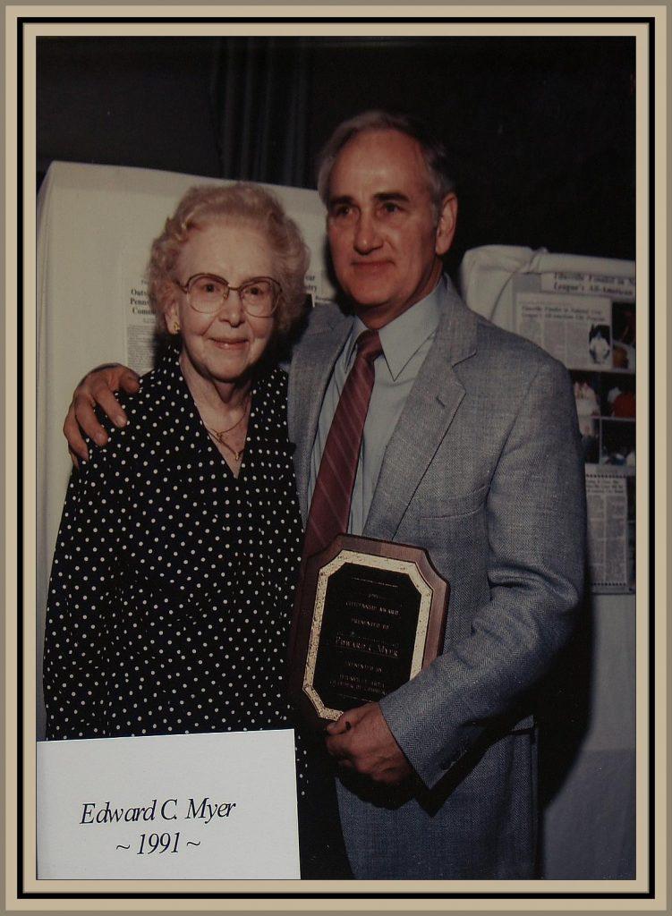 1991 Titusville Citizen of the Year - Edward C. Myer