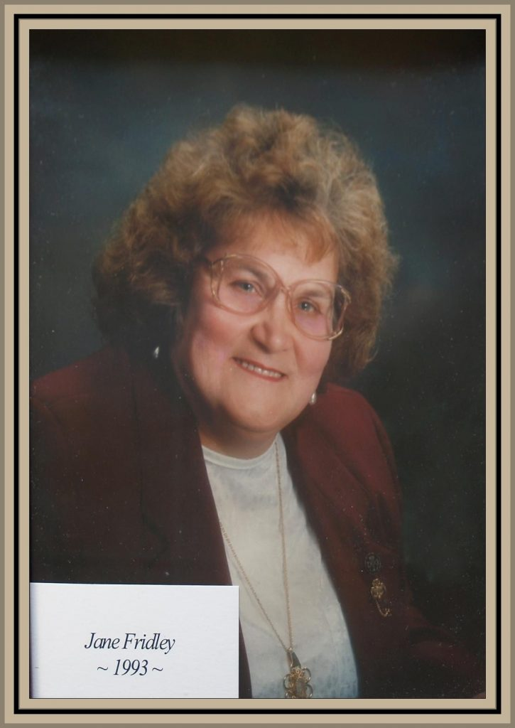 1993 Titusville Citizen of the Year - Jane Fridley