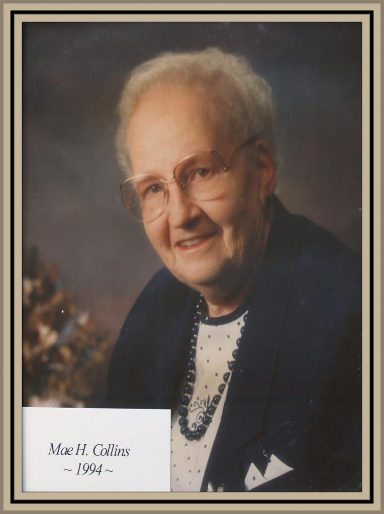 1994 Titusville Citizen of the Year - Mae H. Collins