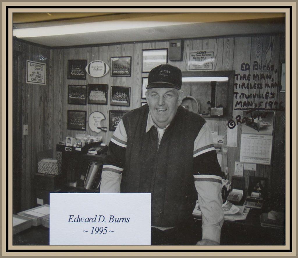 1995 Titusville Citizen of the Year - Edward D. Burns