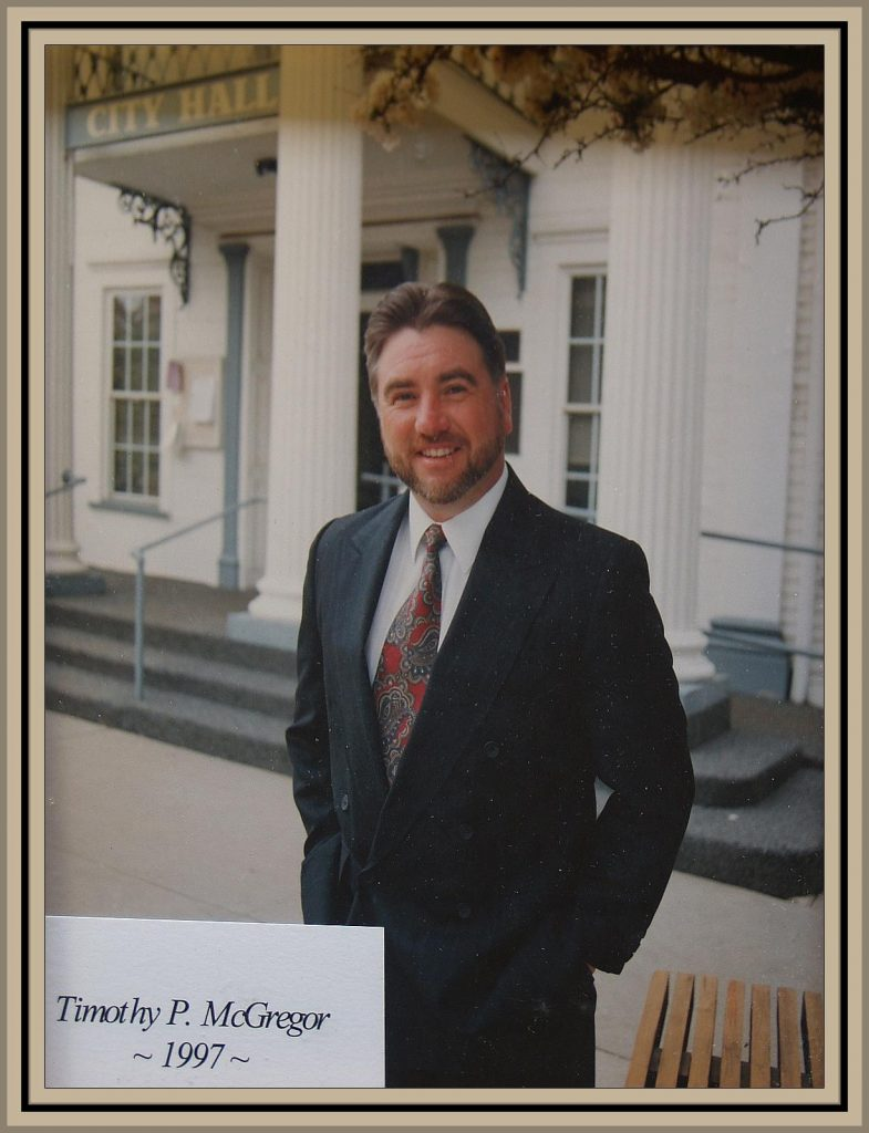 1997 Titusville Citizen of the Year - Timothy P. McGregor