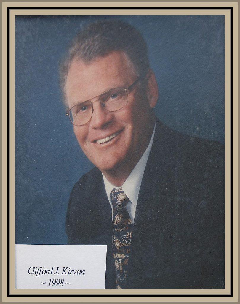 1998 Titusville Citizen of the Year - Clifford J. Kirvan