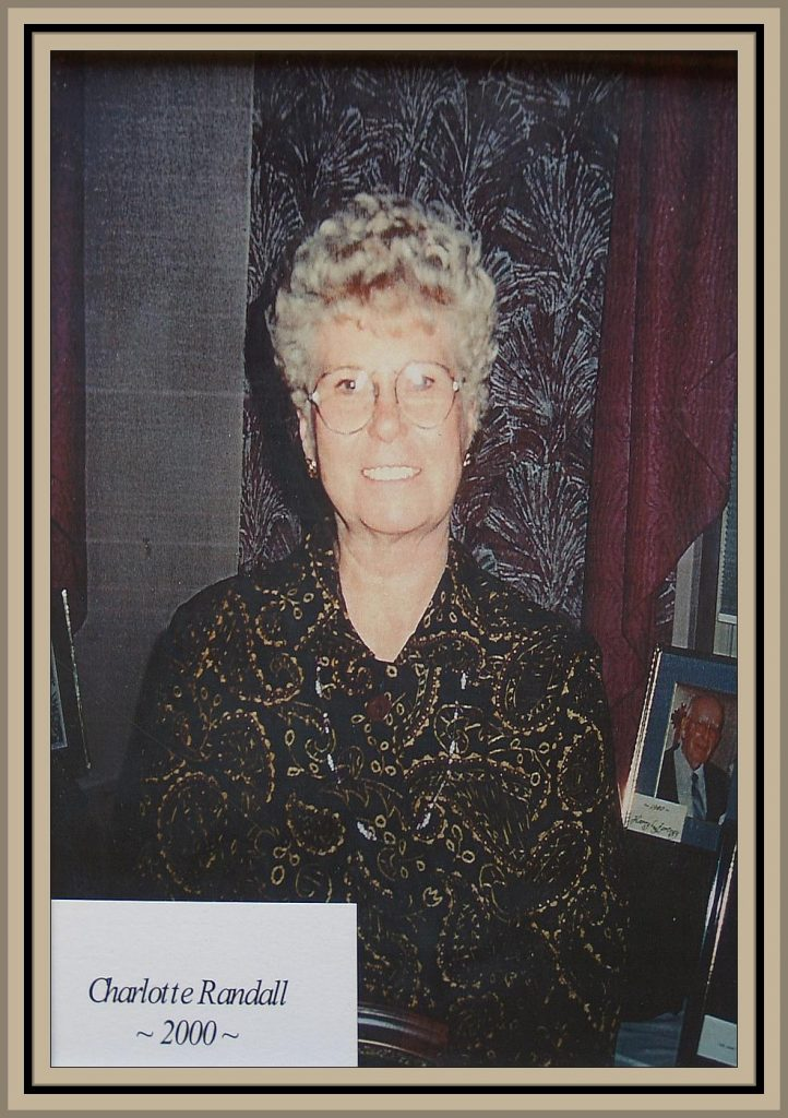 2000 Titusville Citizen of the Year - Charlotte Randall