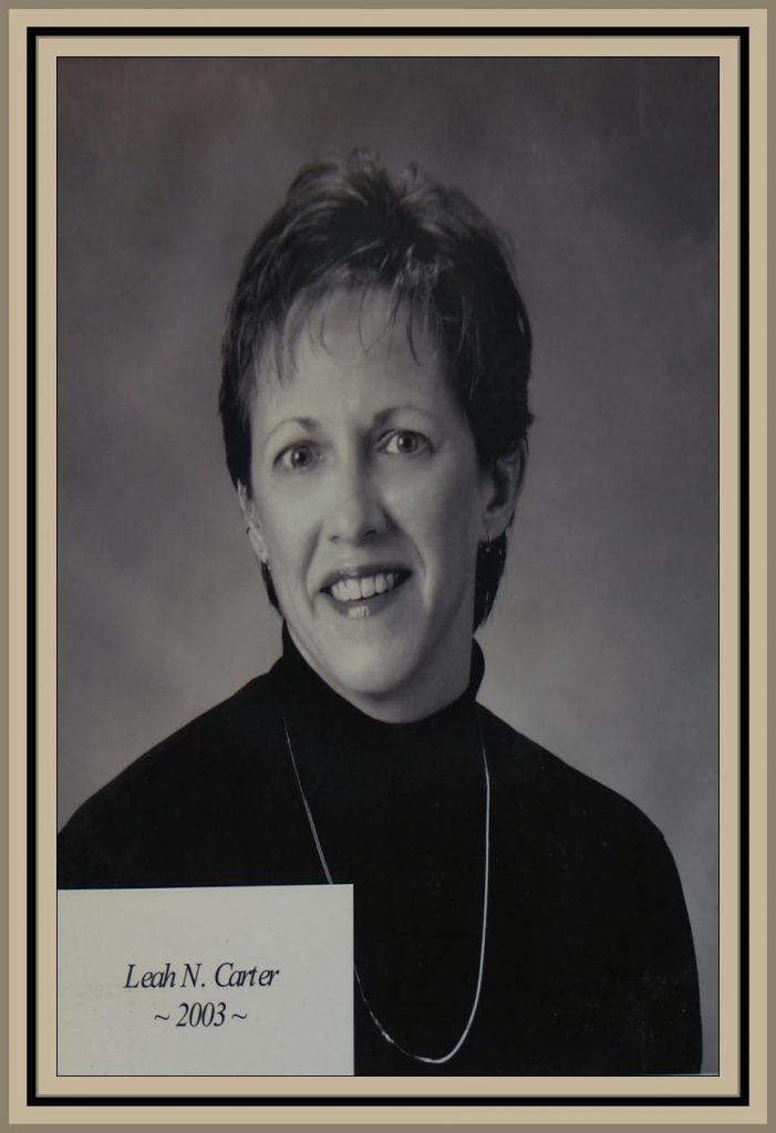 2003 Titusville Citizen of the Year - Leah N. Carter