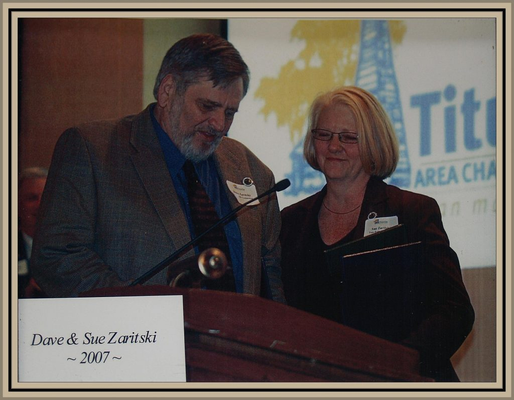 2007 Titusville Citizens of the Year - Dave and Sue Zaritski