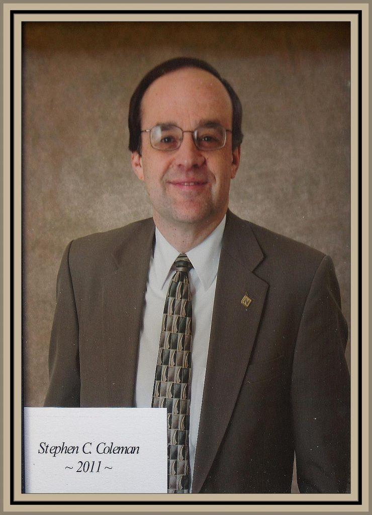 2011 Titusville Citizen of the Year - Stephen C. Coleman