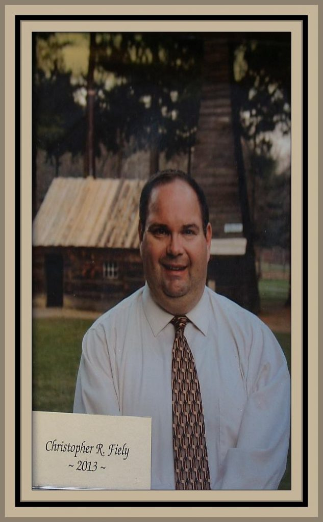 2013 Titusville Citizen of the Year - Christopher R. Fiely