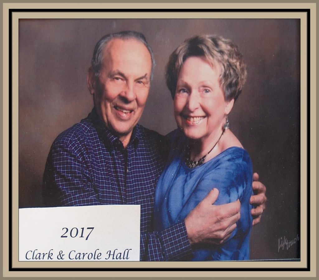 2017 Titusville Citizens of the Year - Clark and Carole Hall