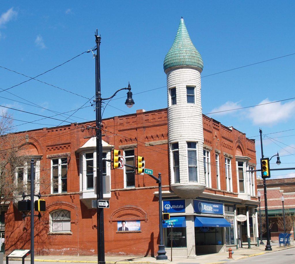 Algrunix Building in Titusville, Pennsylvania