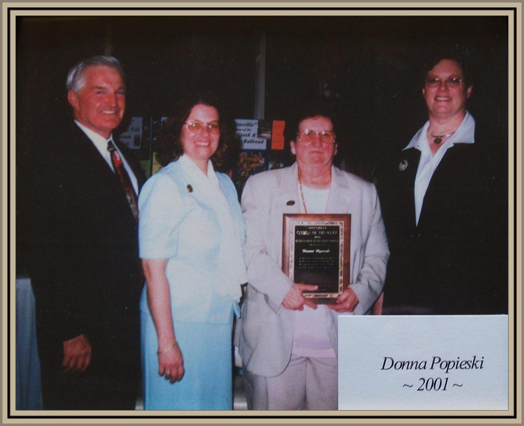 2001 Titusville Citizen of the Year - Donna Popieski