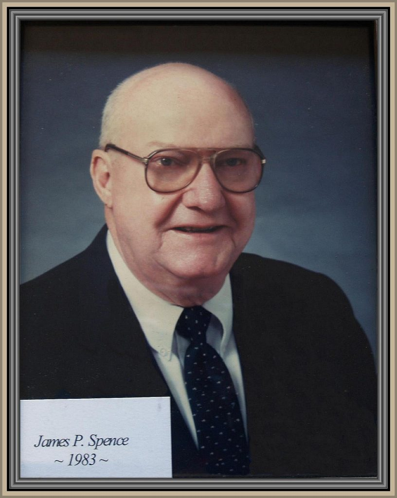 1983 Titusville Citizen of the Year - James P. Spence
