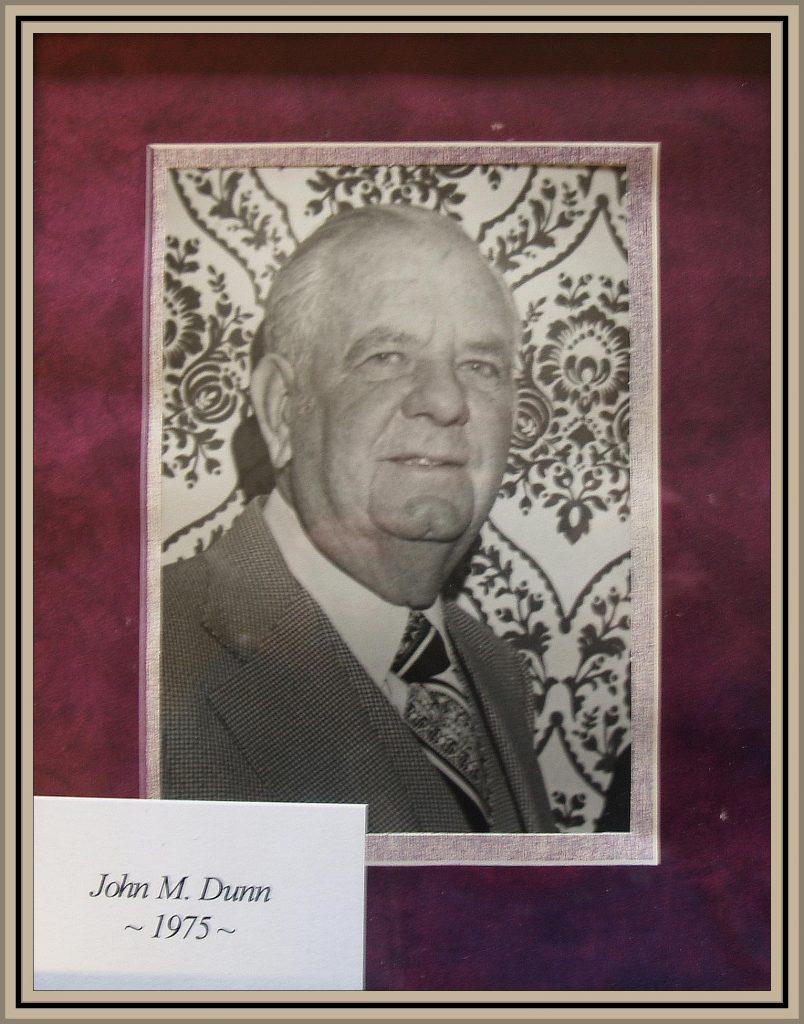 1975 Titusville Citizen of the Year - John M. Dunn