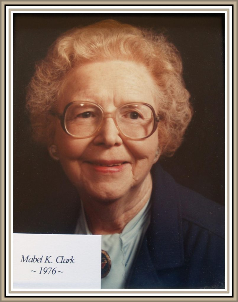 1976 Titusville Citizen of the Year - Mabel K. Clark