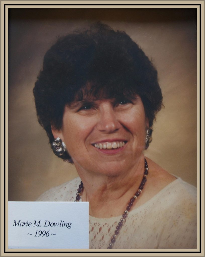 1996 Titusville Citizen of the Year - Marie M. Dowling