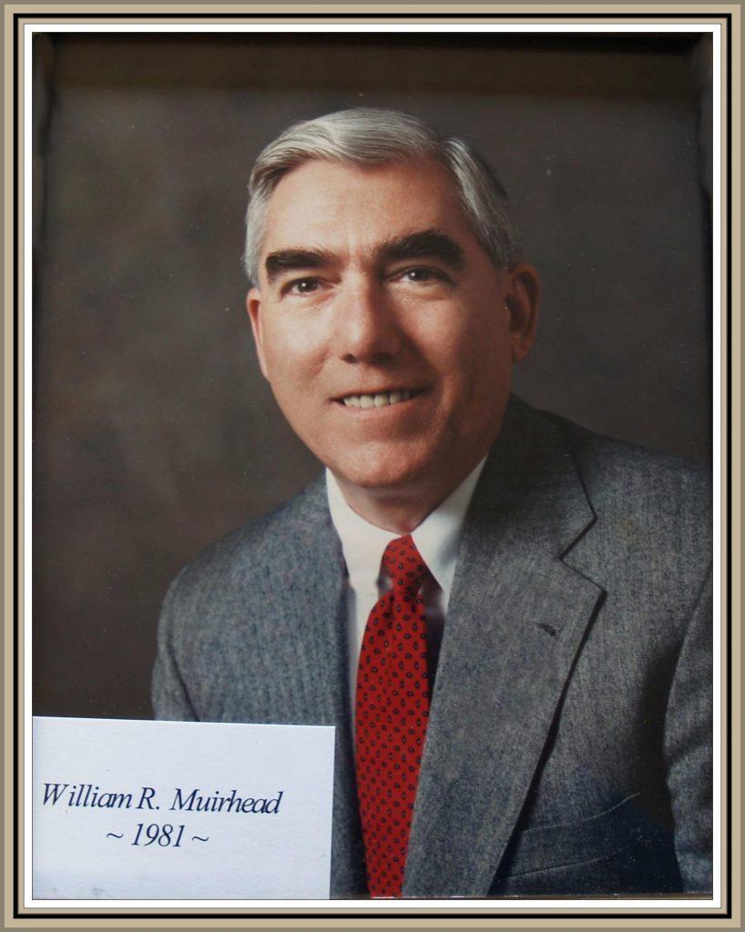 1981 Titusville Citizen of the Year - William R. Muirhead