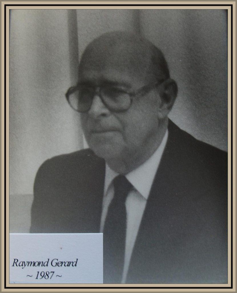 1987 Titusville Citizen of the Year - Raymond Gerard