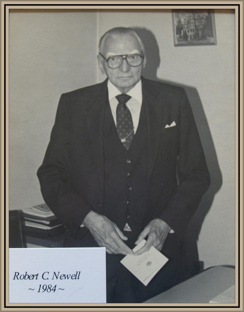 1984 Titusville Citizen of the Year - Robert C. Newell