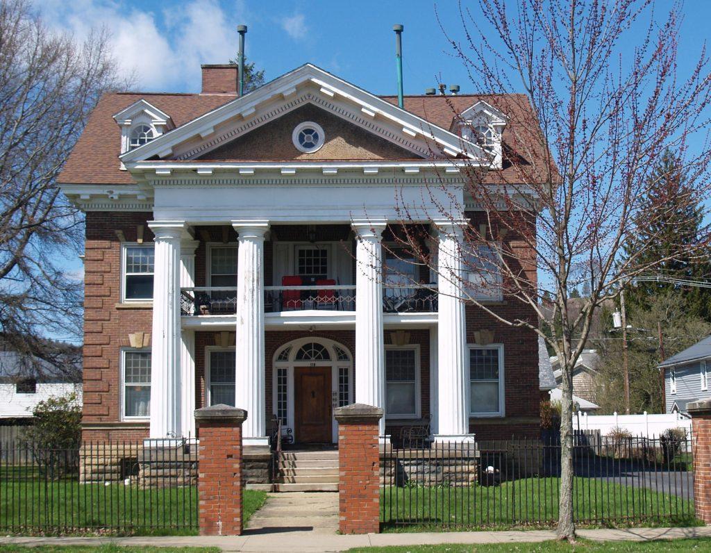 Isaac Shank House in Titusville, Pennsylvania