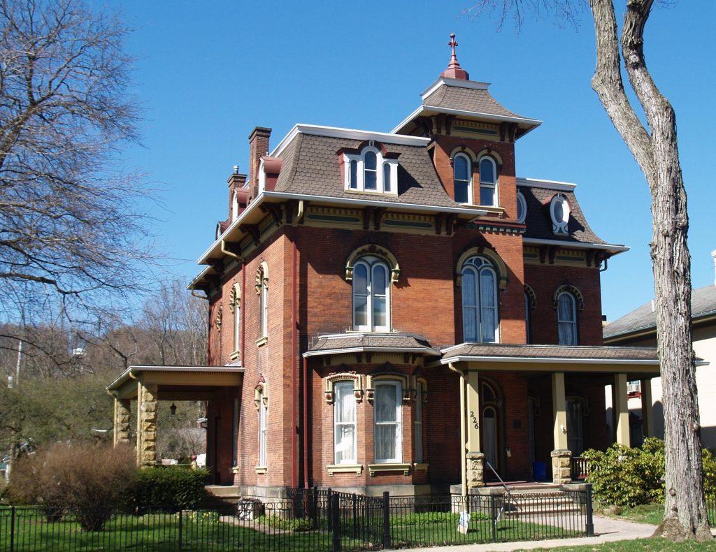 Sterrett House in Titusville, Pennsylvania