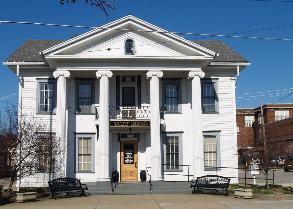 Titusville City Hall in Titusville, Pennsylvania