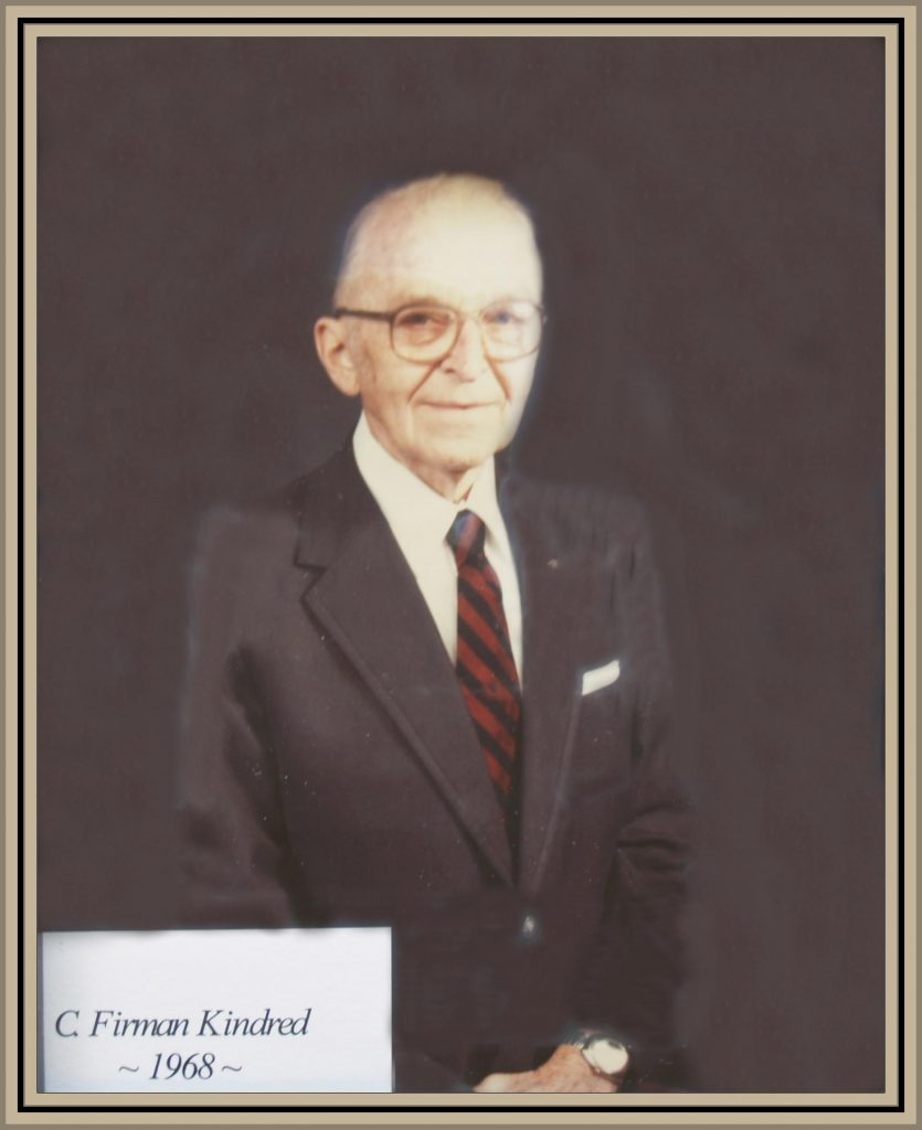 1968 Titusville Citizen of the Year - C. Firman Kindred
