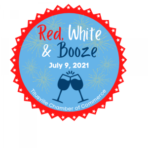 Logo for the 2021 Wine Walk of the Titusville Area Chamber of Commerce